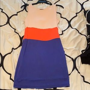 Block Body Con Dress